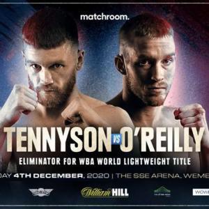 オライリーvsテニーソン 「結果」 WBA世界ライト級挑戦者決定戦