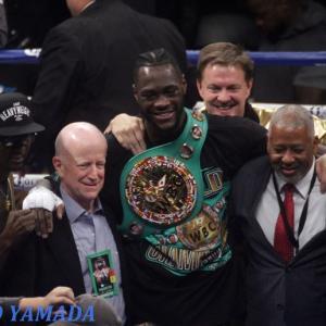 前WBC王者ワイルダー vs IBF2位マーティン 「交渉開始!」 世界ヘビー級