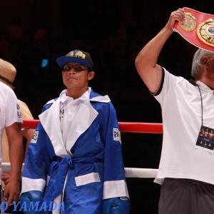 WBA指令! ホセ・アルグメドvsバイロン・ロハス 「ミニマム級正規王座決定戦」