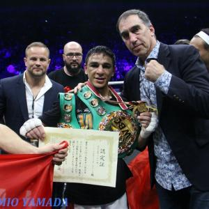 3/13 ノルディ・ウーバーリvsヤンガ・シッキボ WBC世界バンタム級戦
