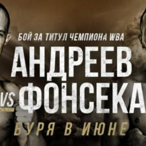 WBAライト級ゴールド王座決定戦 「結果」 アンドリーエフvsフォンセカ