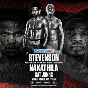 スティーブンソンvsナカティリャ 「結果」 WBO世界スーパーフェザー級暫定王座決定戦
