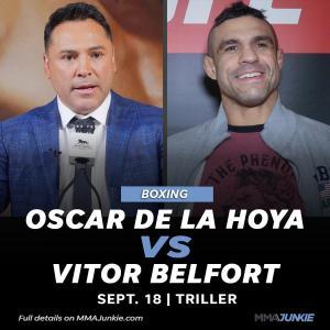 9/11 48歳オスカー・デラホーヤex元UFC王者ビトー・ベウフォート