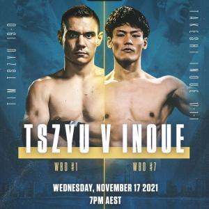 11/17 1位ティム・チューvs7位井上岳也 WBO世界スーパーウェルター級