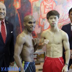 【Photo】 田中恒成vsジョナサン・ゴンサレス 「計量」 WBO世界フライ級戦