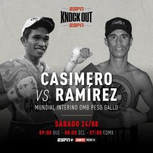 カシメロvsラミレス 「結果」 WBO世界バンタム級暫定戦