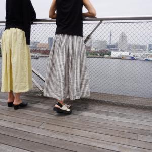 ルーチェスカートをリネン以外で作ってみようと思う。