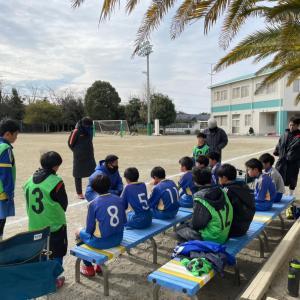 次男☆サッカー練習試合