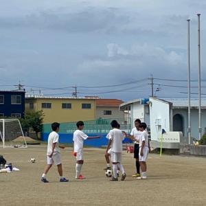 長男☆残り少ない中学サッカー