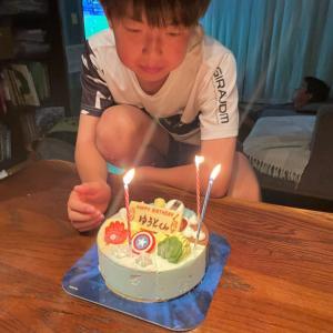 次男☆ゆうとのお誕生日