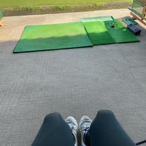 母ちゃん☆ゴルフ練習の後のお墓参り