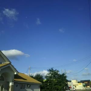 今日は、秋の空!