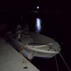 こんばんわ。夜10時。夜釣りしてます。