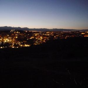 マテーラの夜景で、新年のごあいさつ