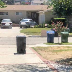 ゴミ収集車の人が持っていったもの
