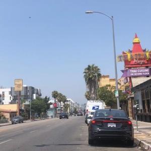 LAのタイタウンでタイフード