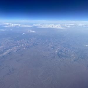 空からの写真/モニュメントバレーと最後は・・