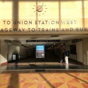 ロサンゼルスの駅ユニオンステーション