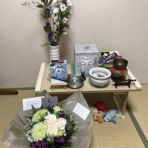 ALMA竹本さんからお花をいただきました