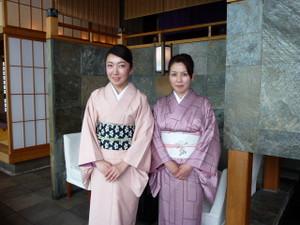 日本舞踊できもの所作・きもので銀ブラ