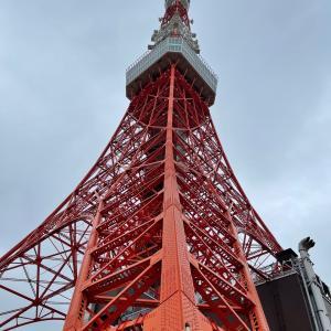 東京タワーを自力で登る