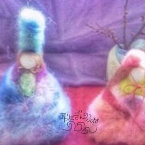 春の色を運んできてくれるおひなさまを羊毛手仕事でつくりませんか?