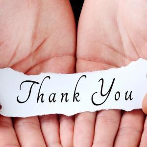 感謝の気持ちは会えてるときに普段から@ひとりごと