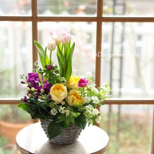 春のお花を詰め込んで~心が癒されるように…