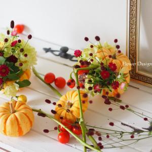 秋のディスプレイアレンジ