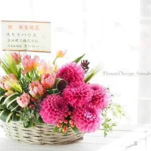ピンク色のお花達に