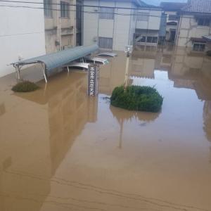 台風の影響で援助へ