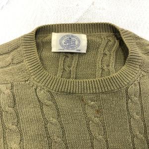 シルクのセーターの変色、色復元加工