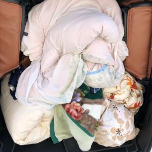 お布団の丸洗いクリーニング、無料集配中