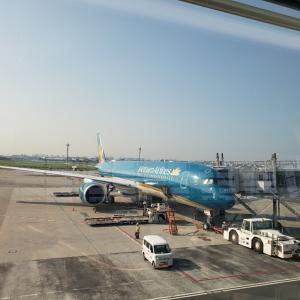 ベトナム航空(羽田~ハノイ~フランクフルト)~ドイツ2019夏~