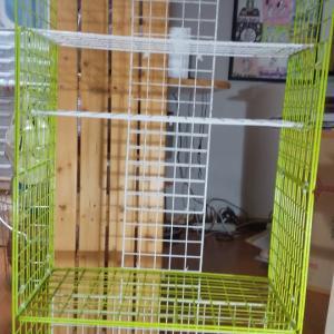ワイヤーラックにワイヤーものを集めて再々構築してみた。