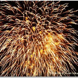 大久保駐屯地の花火。