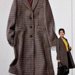 今年欲しいチェックのコート♪