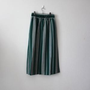 グリーンのストライプスカート☆shop新商品のお知らせ
