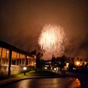 ルスツリゾートの花火☆過去の写真ですが・・・