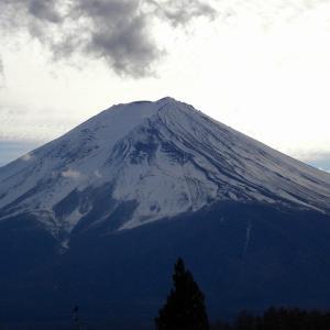 年末の富士山(自宅前)