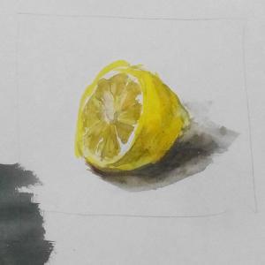 レモン描いたらレモンになった件
