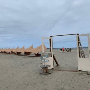 砂浜図書館