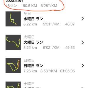 月間150km & 大盛り中華!!