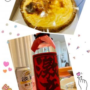 息子夫婦とチーズケーキ♡ +.゚ポッ(o´∪`o)ポッ゚+.゚