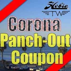 CORONAVIRUS  PANCH-OUT COUPON