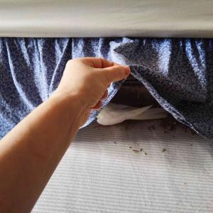 ベッドの下で何してる?