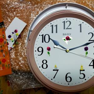 新しい掛け時計