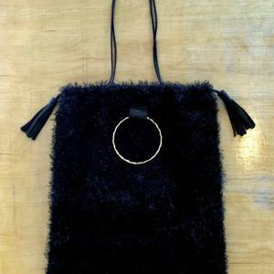 ファーのバッグ(縫物)