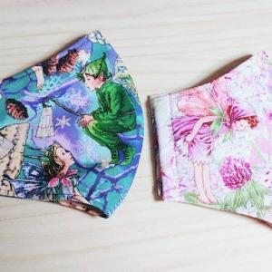 【完成品マスク】フラワーフェアリーズのマスク