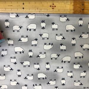 布「羊の群れ方に関する線による表現法」